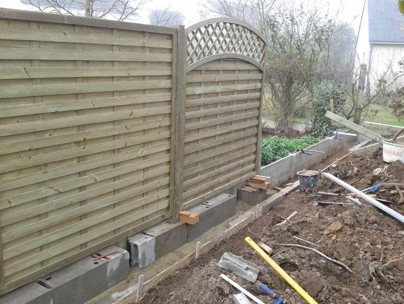 muret en bois - Recherche Google Mur du0027isolation extérieur - Enduire Un Mur Exterieur En Parpaing