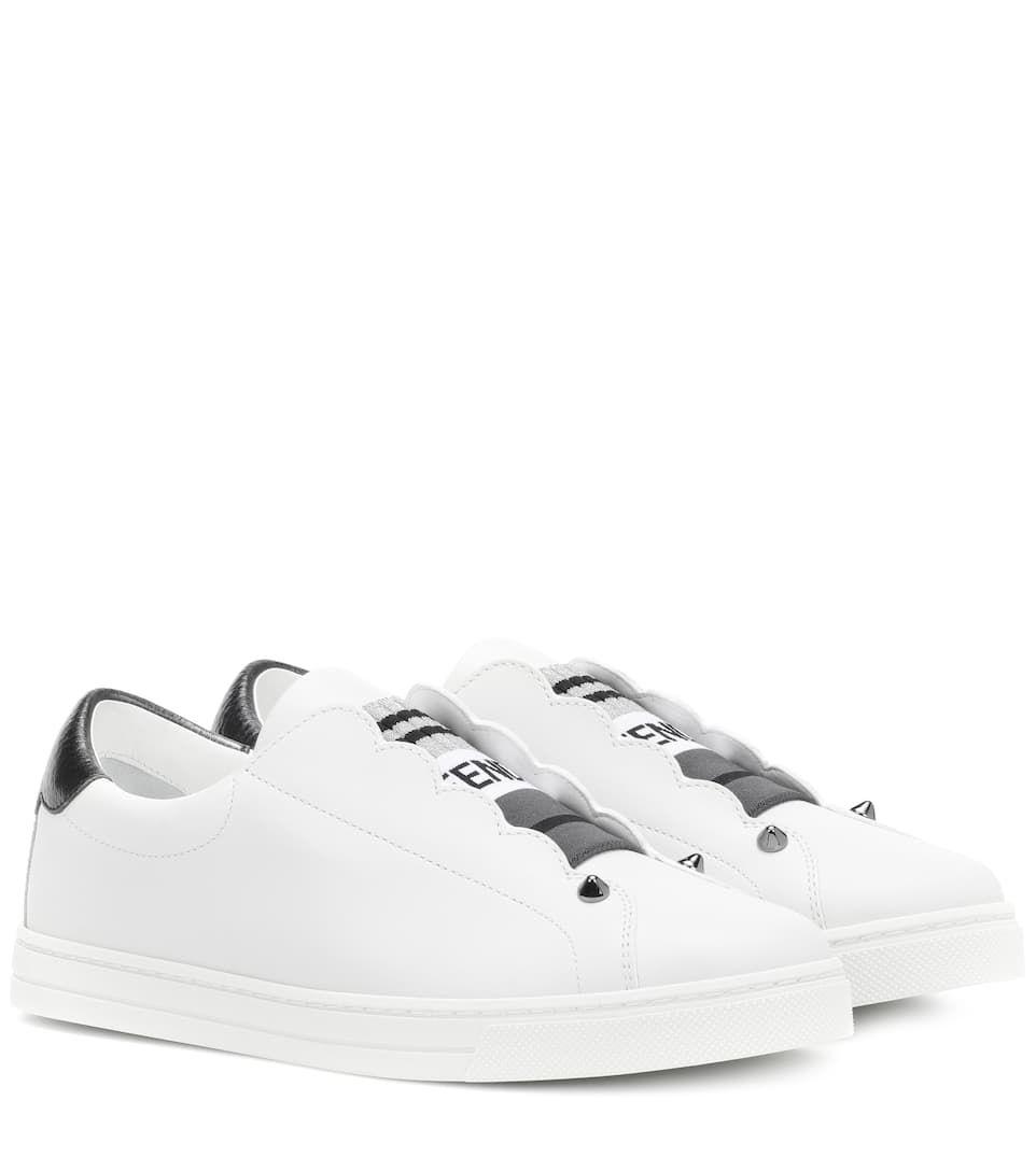 FENDI | Leather Sneakers | $ 590