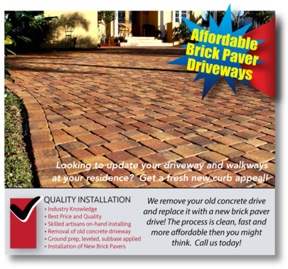 Brick Pavers Installed In Orlando Paver Installation Paver Driveways Pool Deck Remodeling Paver Pati Paver Patio Outdoor Patio Pavers Driveway Installation