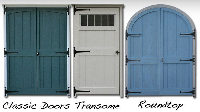 Buy Replacement Storage Shed Doors In Lancaster, PA