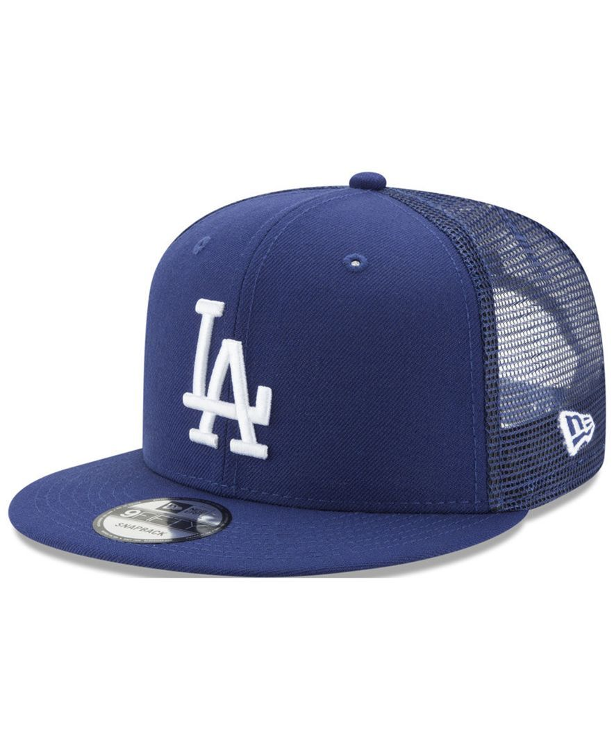 detailed look 8b0e6 266bc New Era Los Angeles Dodgers On Field Mesh 9FIFTY Snapback Cap