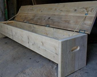 The Original Future Rustic Bench Storage Box Wood Projects Bench With Storage Wood