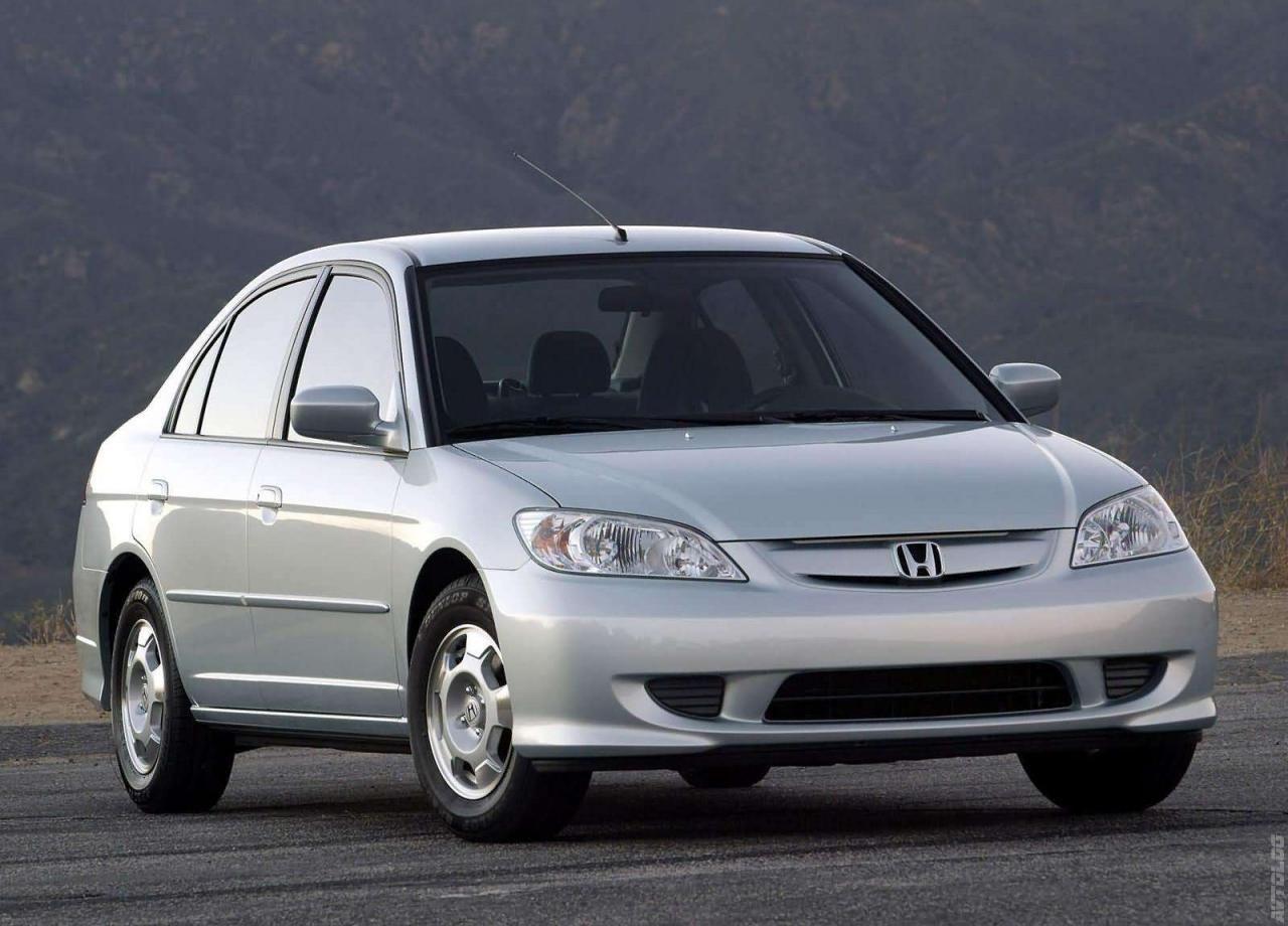 2005 Honda Civic Hybrid Фотографии Галерея