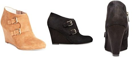 Anne Klein Tylor Wedge Booties