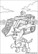 Paw Patrol coloring pages on ColoringBook.info