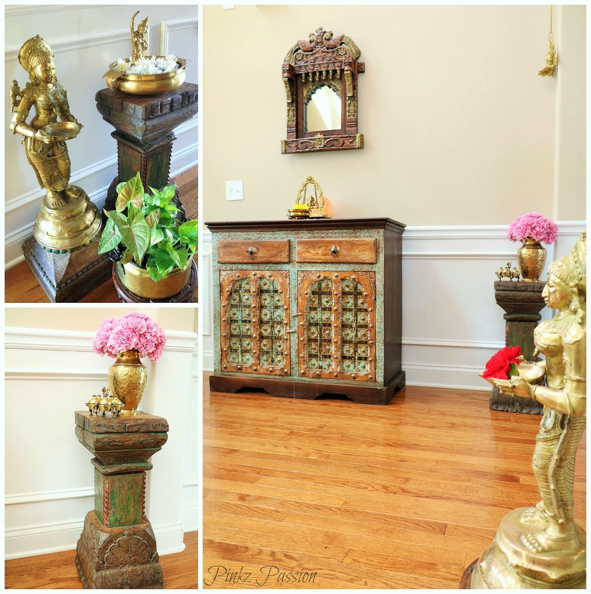Indian Home Decor, Indian Brass Artifacts, Traditional