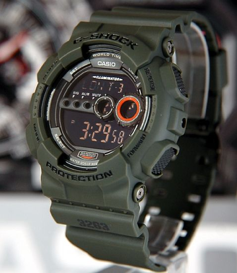 903dec911 G-Shock GD-100 << want this!!! | Men's Fashion | Casio g shock, G ...
