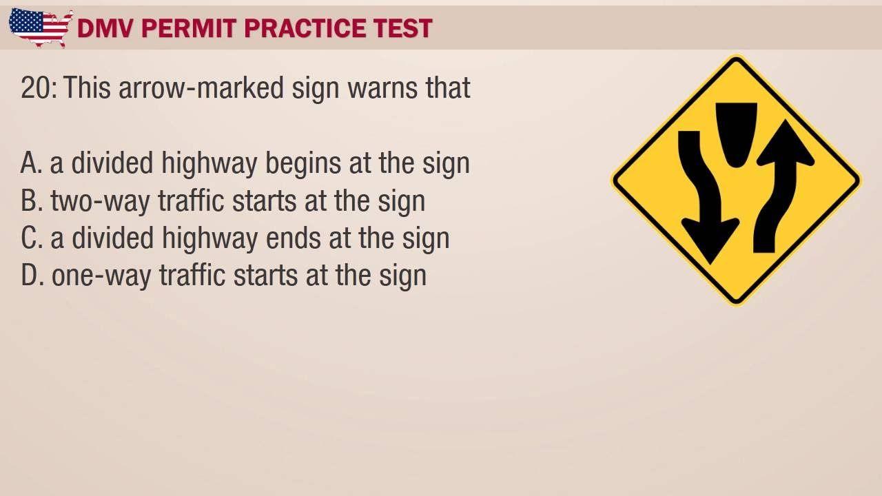 Driving License Exam Kentucky Dmv Practice Test 3 Dmv Permit