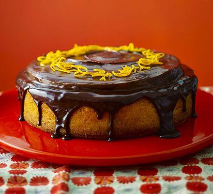 Giant Jaffa Orange Cake Recipe Jaffa Cake Baking Cake