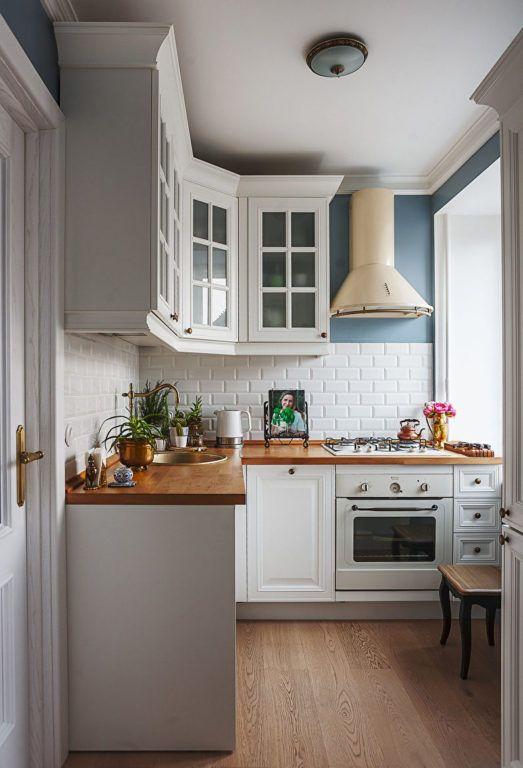 Ремонт кухни в Хрущевке: 10 правил дизайна и 121 реальное фото #smallkitchendecor