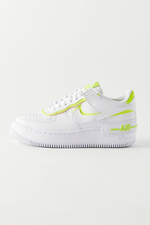 Nike Air Force 1 Shadow Neon Sneaker in 2020 Neon
