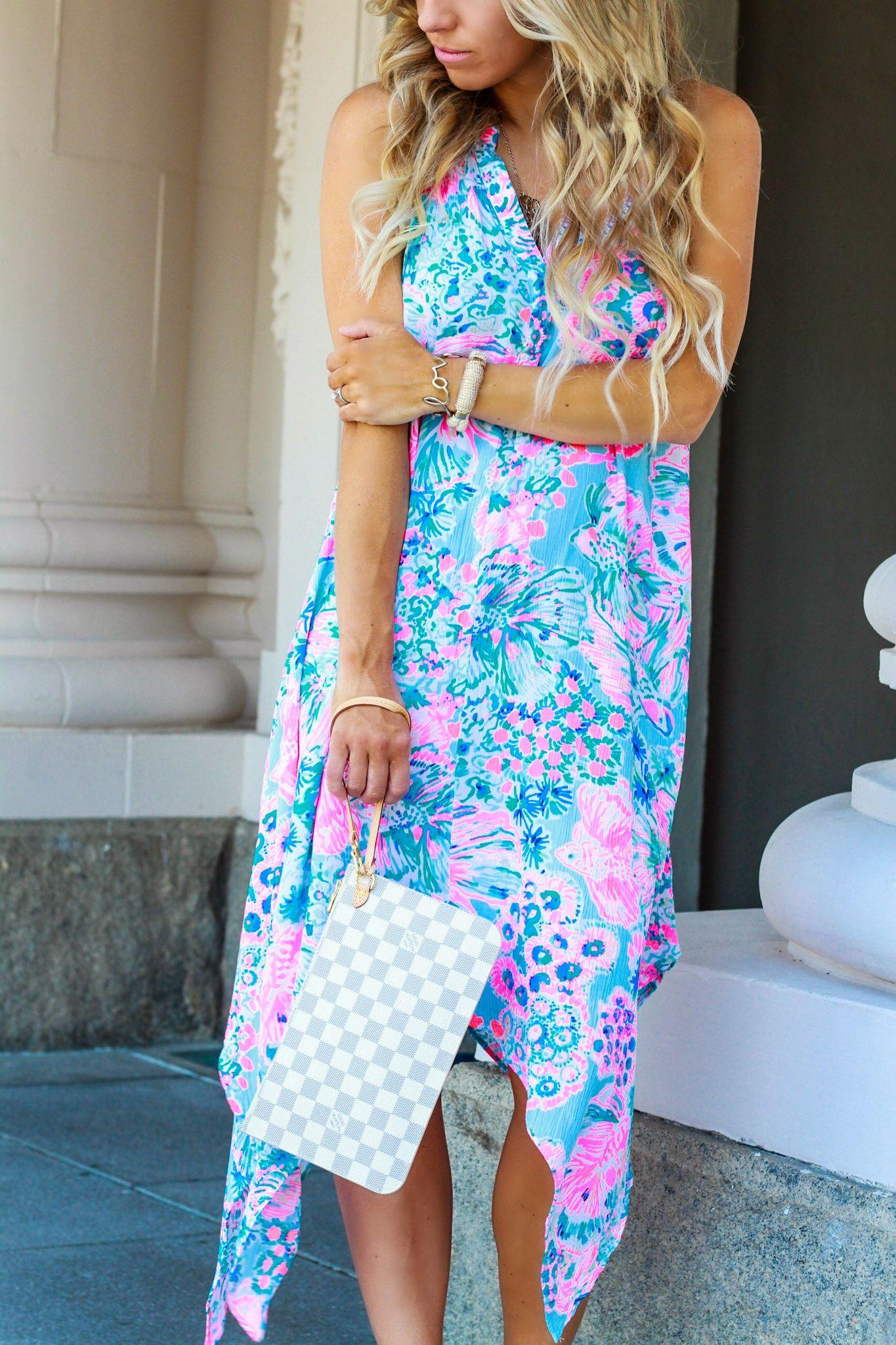 Cool Summer Look | Louis vuitton clutch, Beach dresses and Summer ...