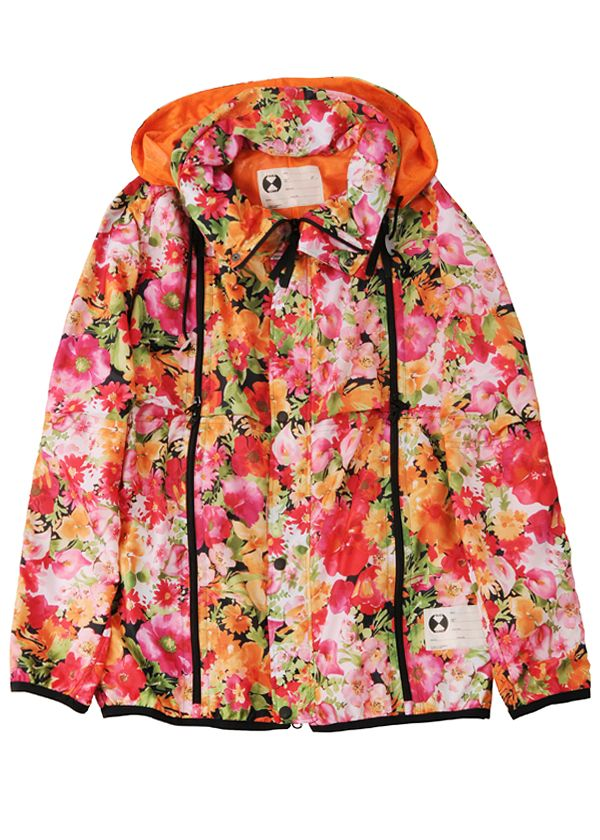 Final Home Double Zip Floral Jacket