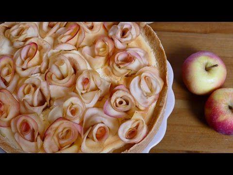 Weltbester Käsekuchen mit Apfelrosen I Käsekuchen mit Äpfel I Apfelernte