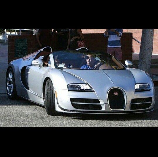Arnold In His Bugatti