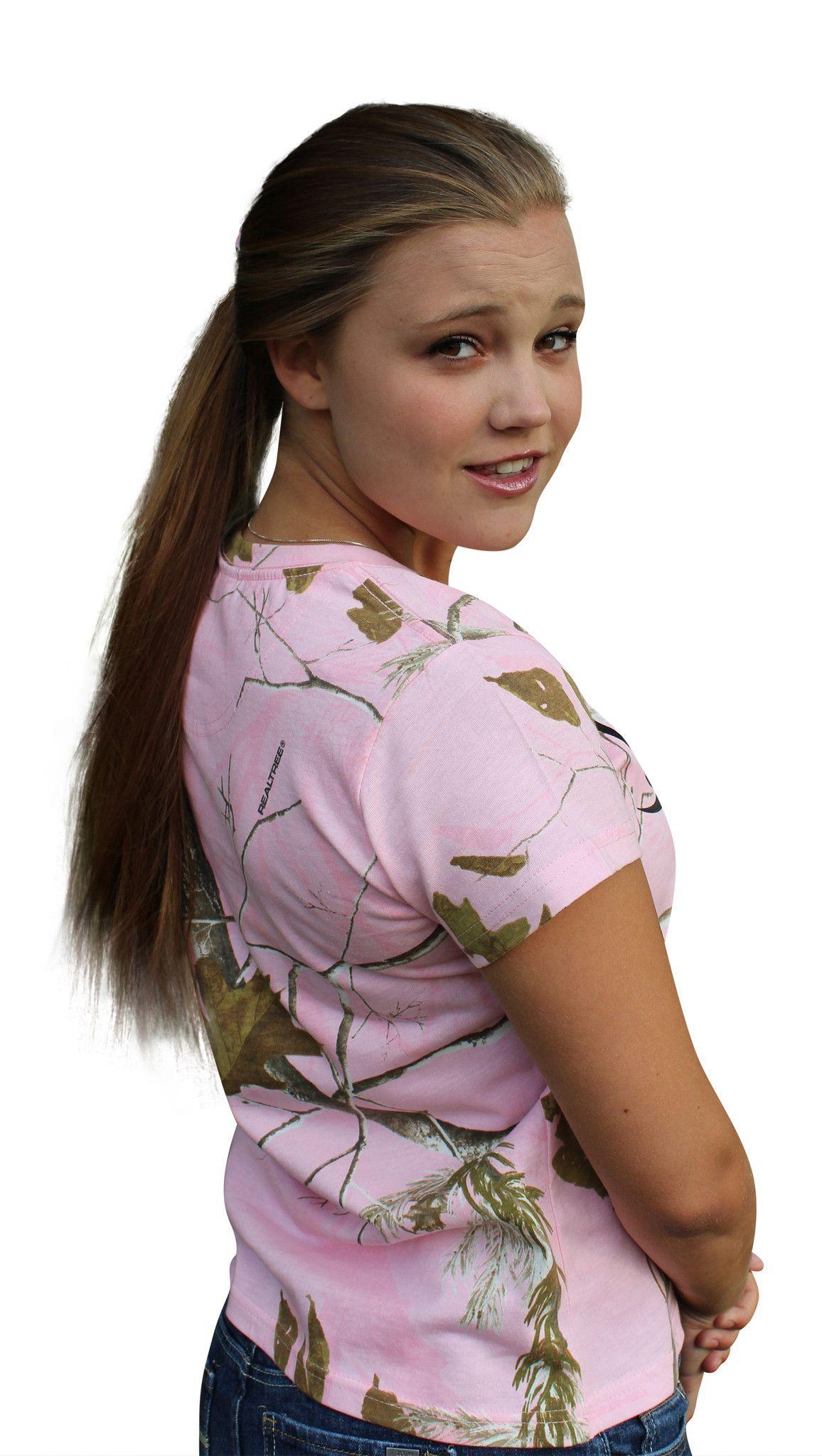 2d7737229 Pink Realtree Camo Tshirt Womens Plus Size XXL 2XL 1X 2X Crewneck Cott –  Camo Chique