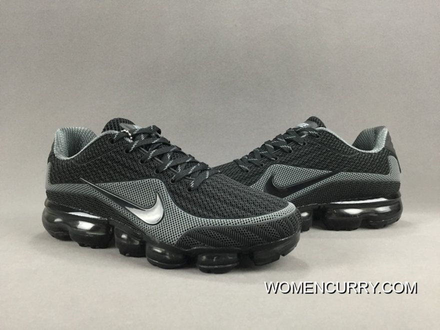 NIKE AIR VAPORMAX FLYKNIT 2018 Black Grey Authentic in 2019  b5f64293d