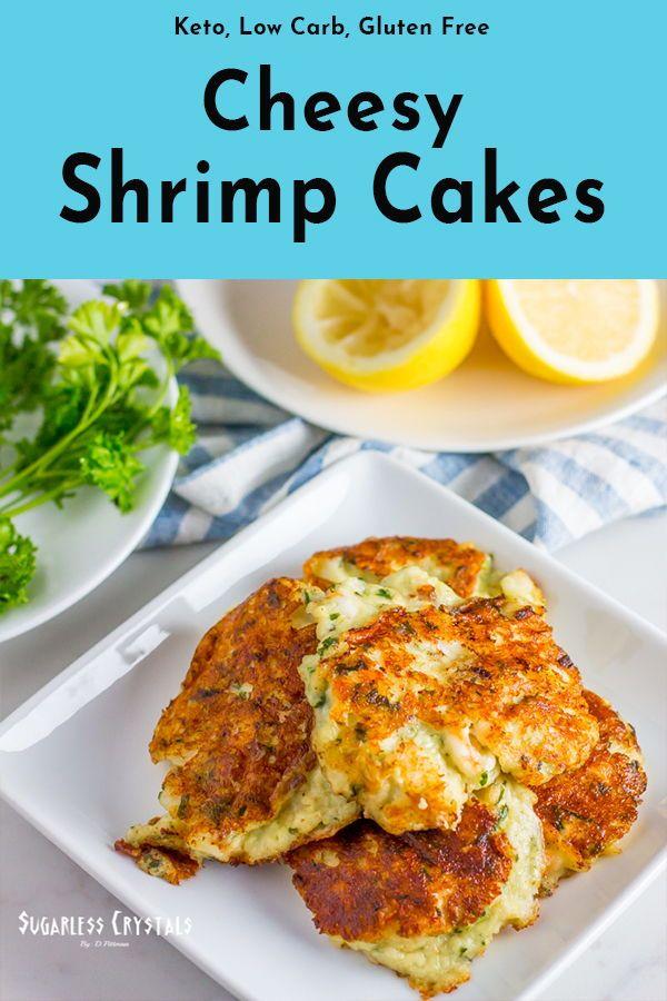 Low Carb Shrimp Cakes   Recipe   Keto bread, Shrimp cakes ...