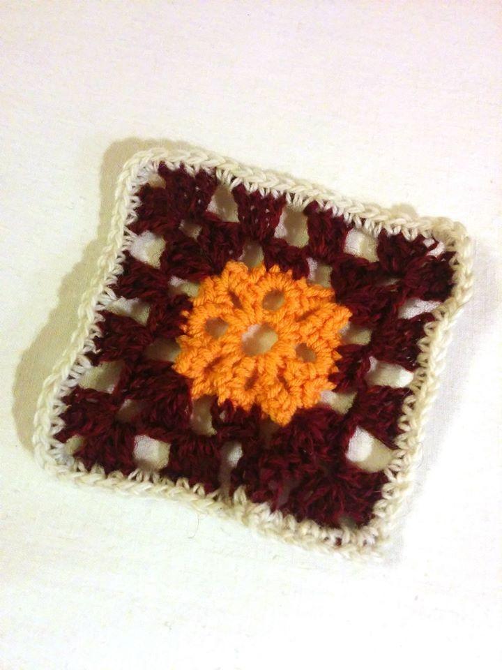Granny #360 - 26 December 2014 #crochetmoodblanket2014 #sylphdesigns http://sylph.ee