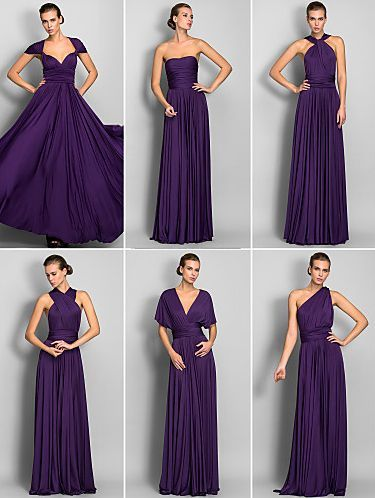 This convertible gown makes a perfect prom dress! So many styles ...