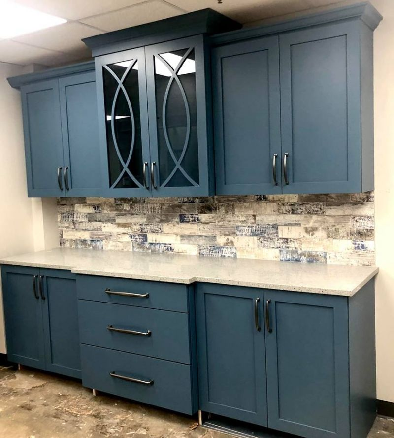 Blue Moon Cabinets Painted Kitchen Cabinets Colors Milk Paint Cabinets Milk Paint Kitchen Cabinets