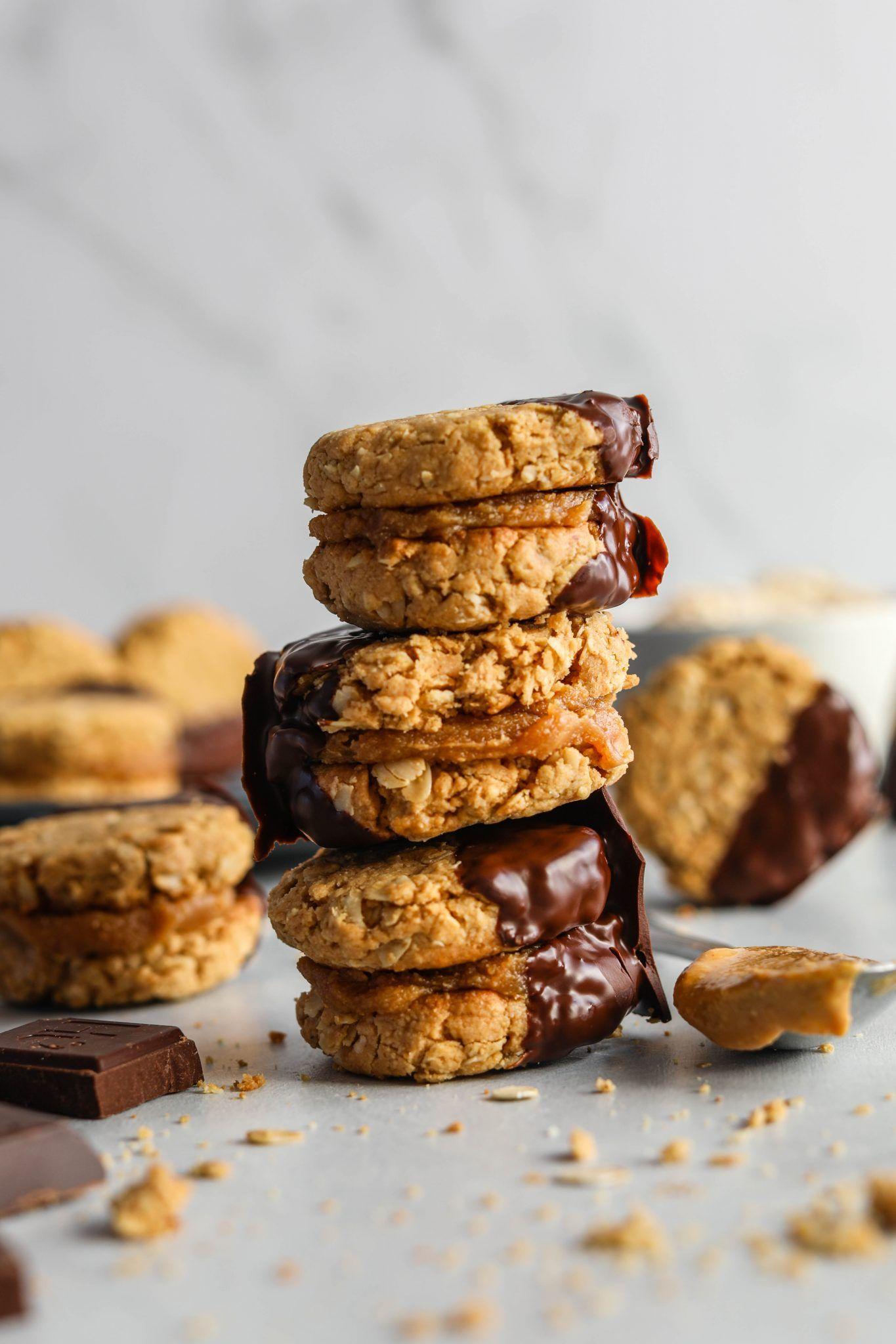 Chocolate Dipped Vegan Do Si Dos Flora Vino Recipe In 2020 Dessert Recipes Healthy Dessert Recipes Desserts
