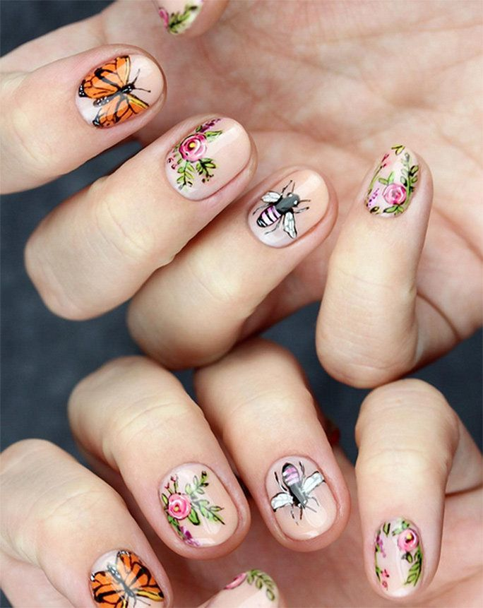 Super Intricate Nail Art To Try Now! | Nail Designs | Pinterest ...