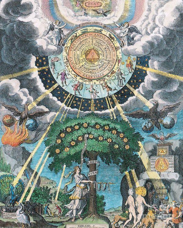 Alchemy Coagulation Art Print by Science Source