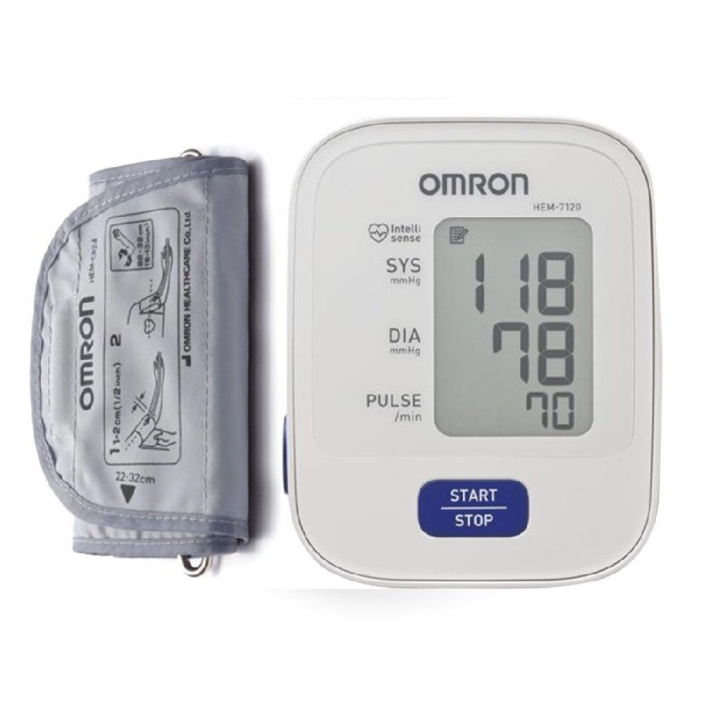 Omron Automatic Enhanced Intellisense Blood Pressure Monitor Hem