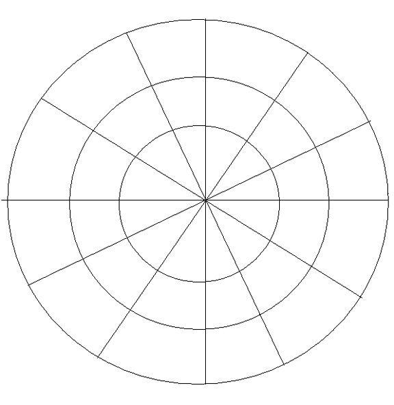 Color wheel template. Directions/ideas at http://tonijames.blogspot ...