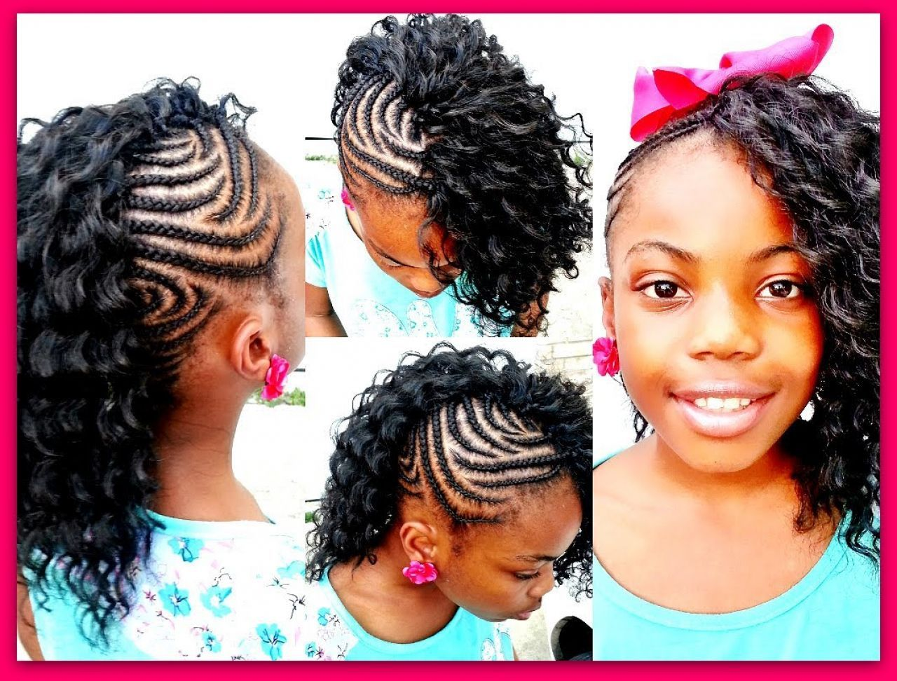 edgy braided mohawk hairstyles for black women - popular