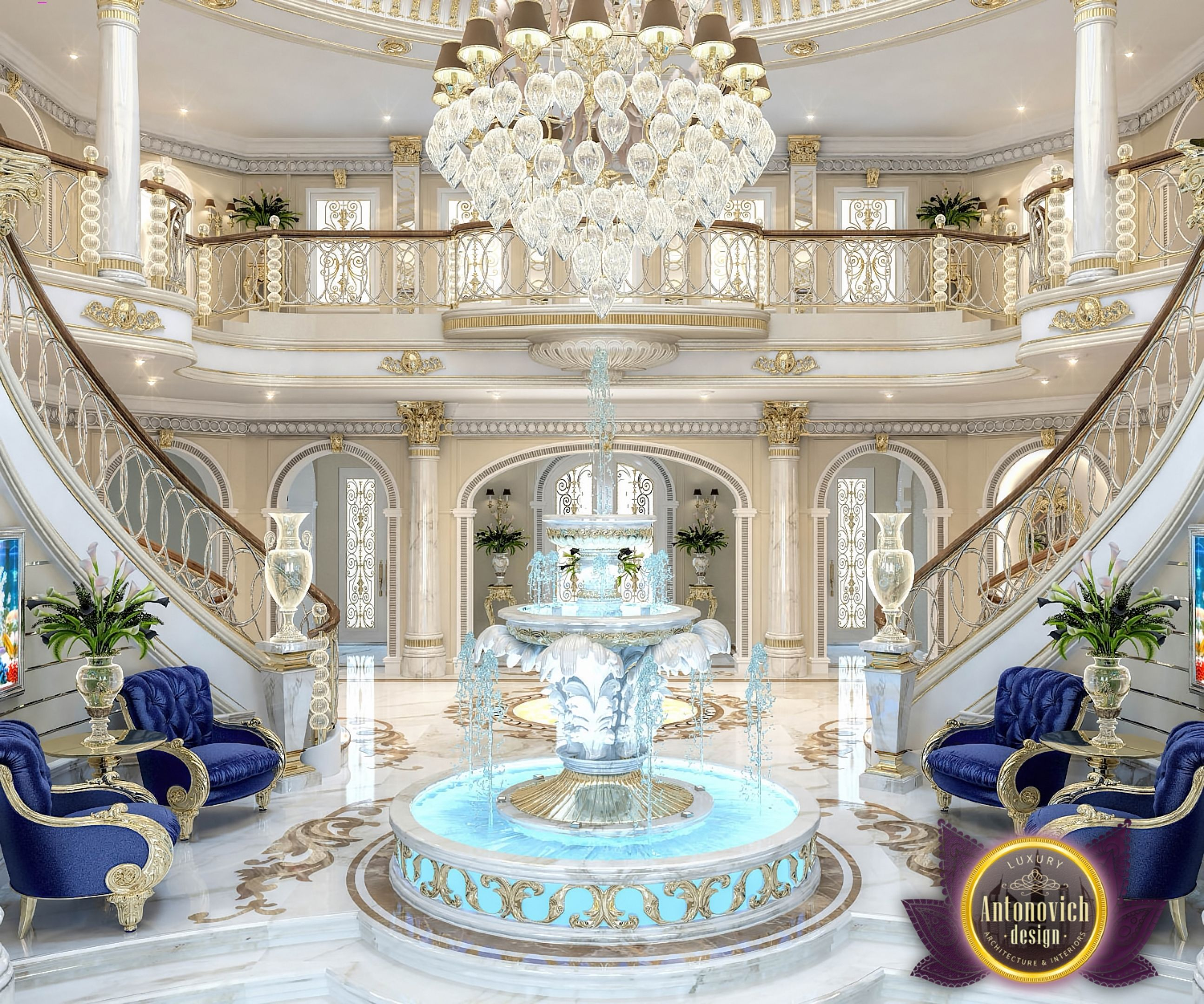 Katrina antonovich luxury interior design aetherial home - Decor oriental design interieur luxe antonovich ...