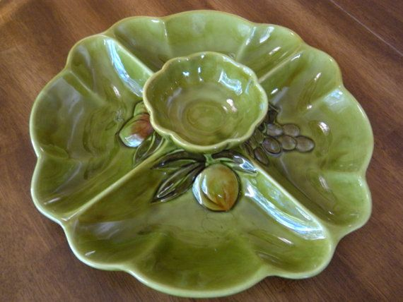 Chip an Dip Platter by aprilleialoha on Etsy