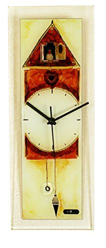 River City Clocks Rectangle Glass Wall Clock With Cuckoo Design You Can Get Additional Details At The Image Link Clock Design Clock Wall Clock