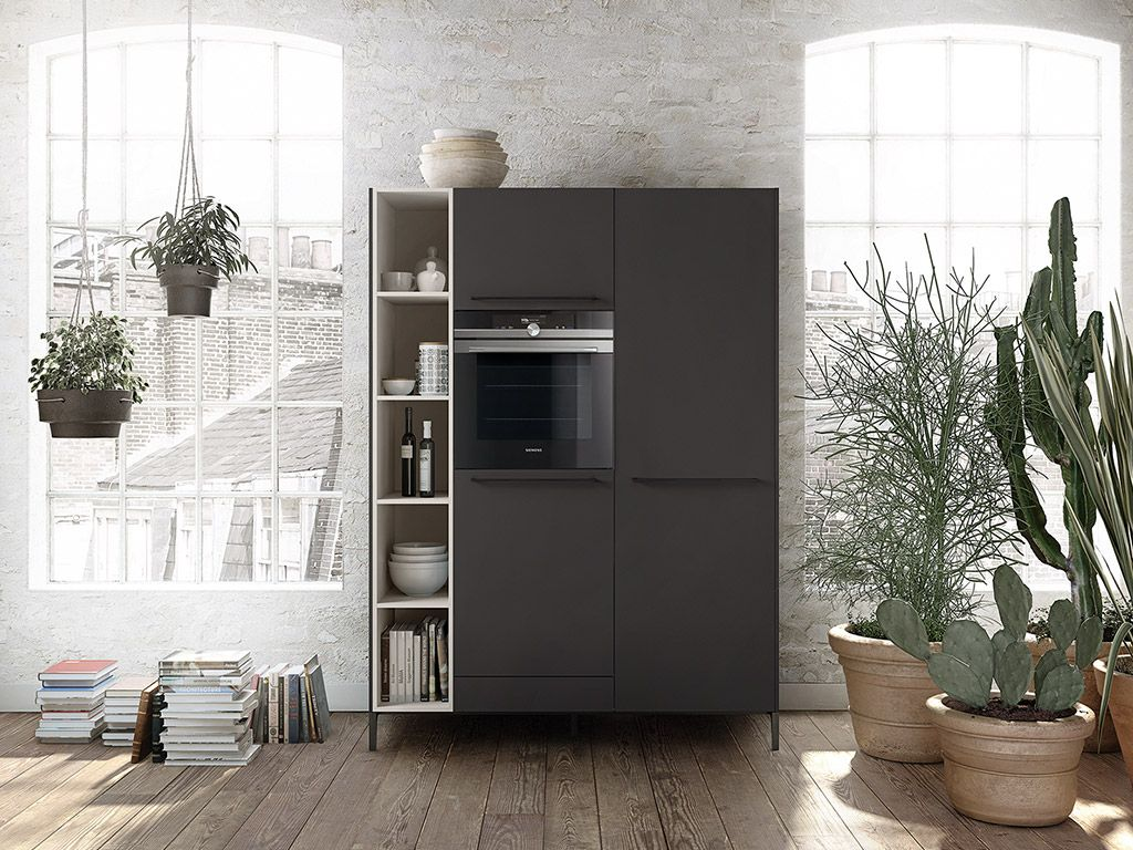 Siematic moderne grifflos s küche in hochglanz lack