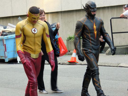 SPOILERS: Get Your First Look At The Possible Villain For Season 3 Of THE FLASH