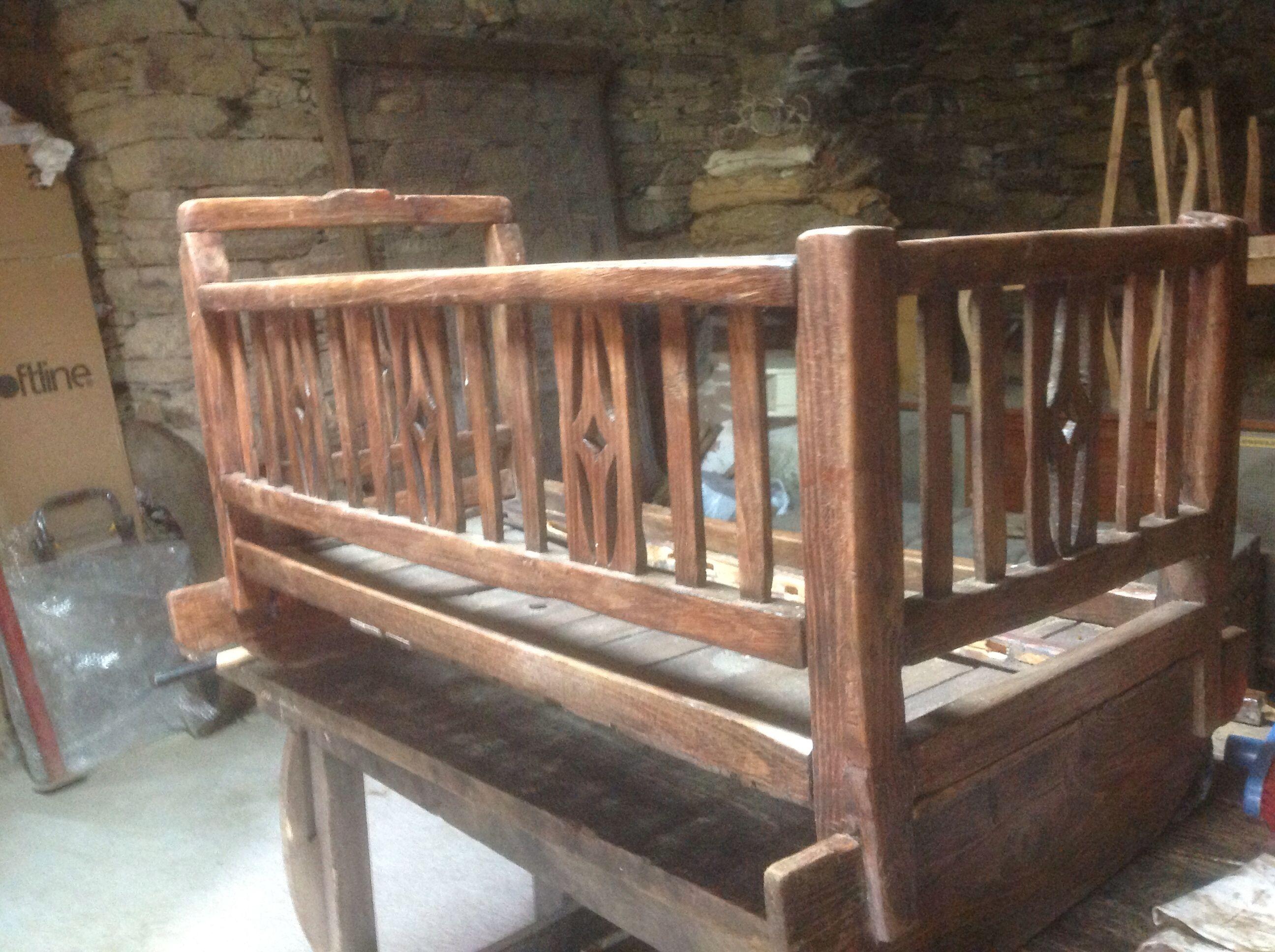 Cuna antigua para restaurar | Muebles restaurados | Pinterest ...
