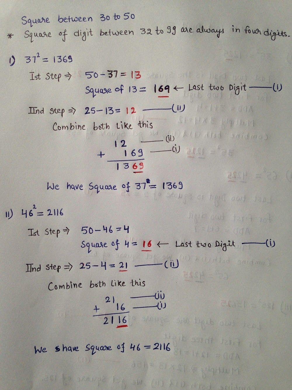 SQUARE ROOTS TRICKS - MATH SHORTCUT TRICKS ~ QUESTION PAPER | math ...