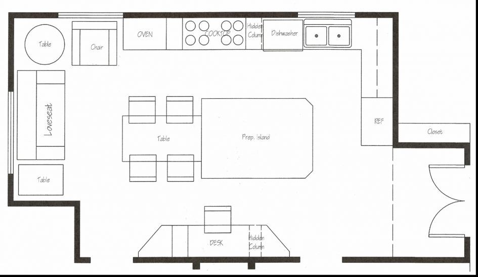 Flooring, Kitchen Layout Templates Restaurant Floor Plan