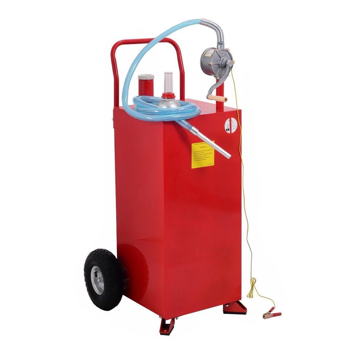 30 Gallon Gas Tank Storage Diesel Fuel Caddy Fuel Storage Diesel Fuel Gas Tanks