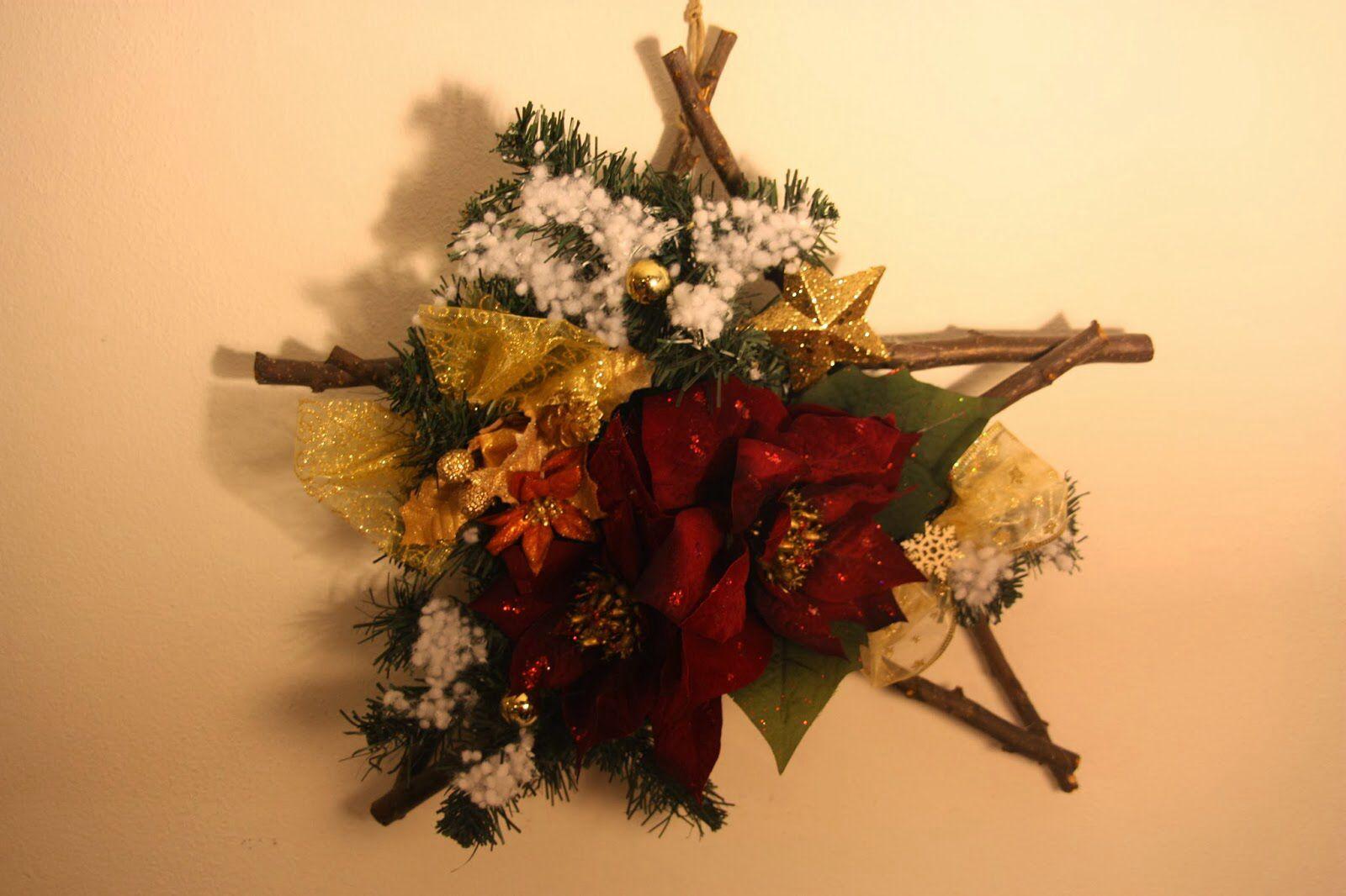 Ghirlanda natalizia.  Locandarosa.blogspot.it