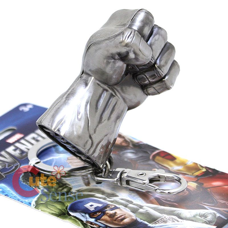 Llavero de metal Puño de Hulk. Licencia Marvel #HulkSmash #Marvel #Keychain