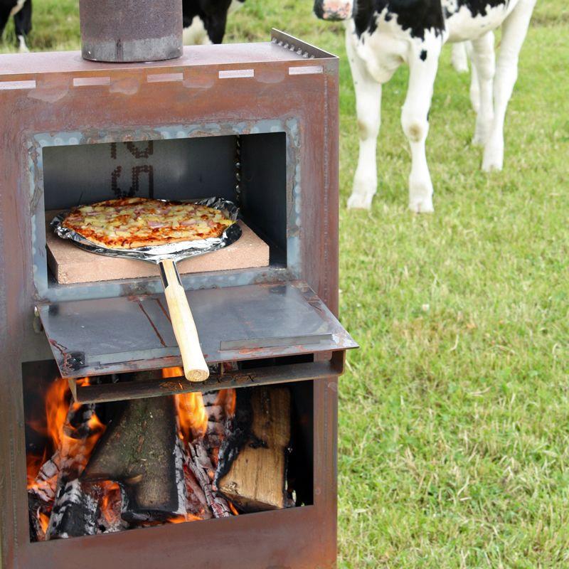 Afbeeldingsresultaat voor buiten pizza oven