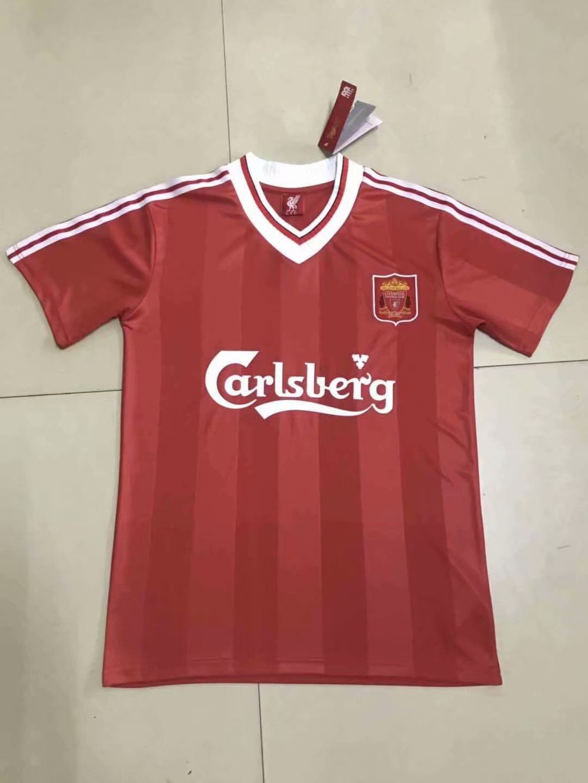 7e45b4448 Thai Quality liverpool retro version Soccer Jersey | Thailand Soccer ...