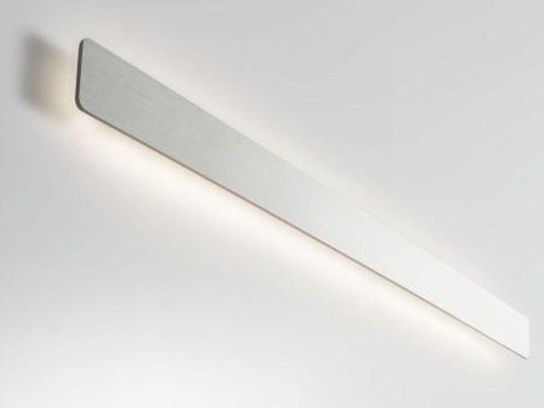 Lampada da parete a led a luce indiretta miles collezione interior a parete by wever - Luci da parete led ...
