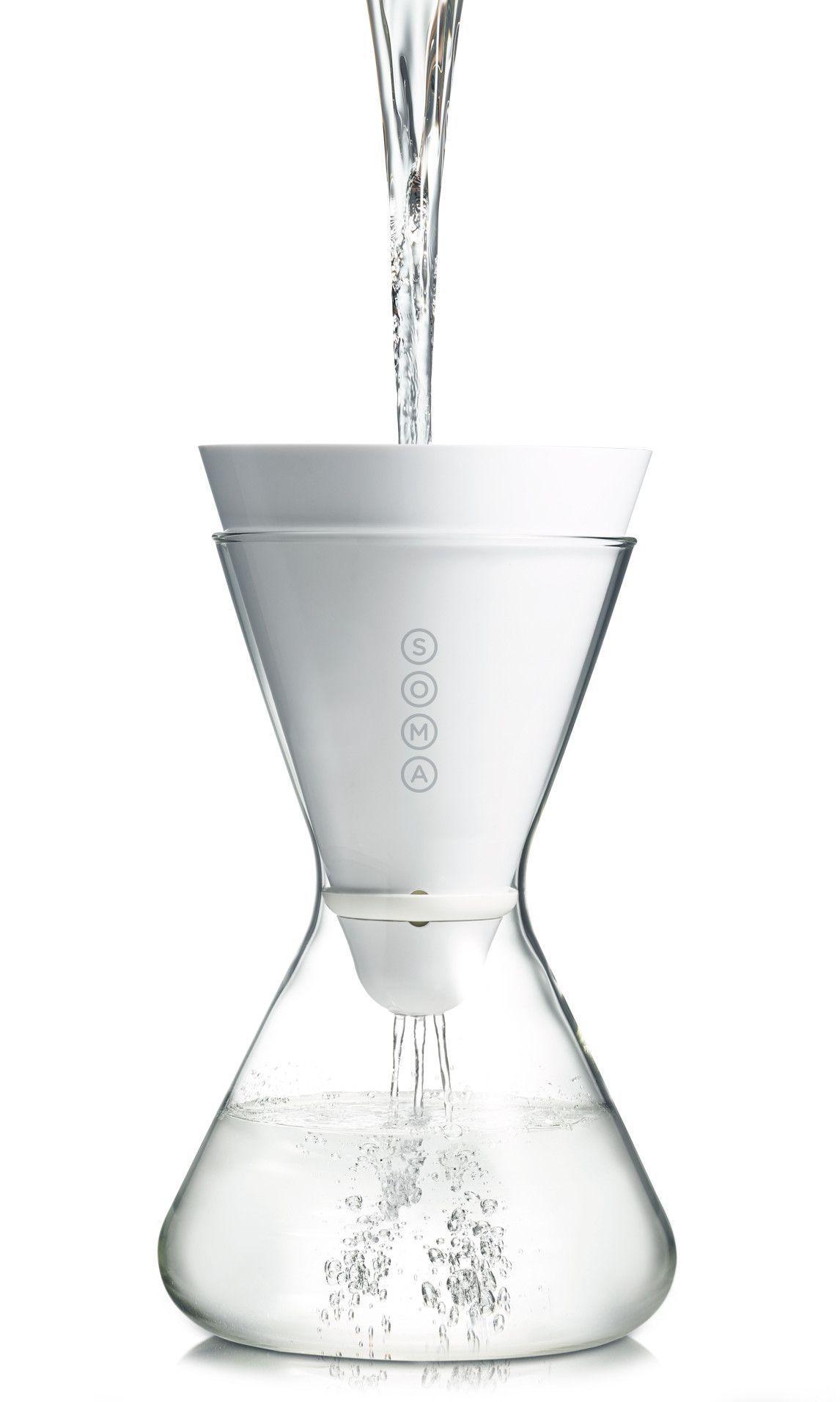 Pyrex Atomic Starburst Glass Carafe Decanter Pitcher by