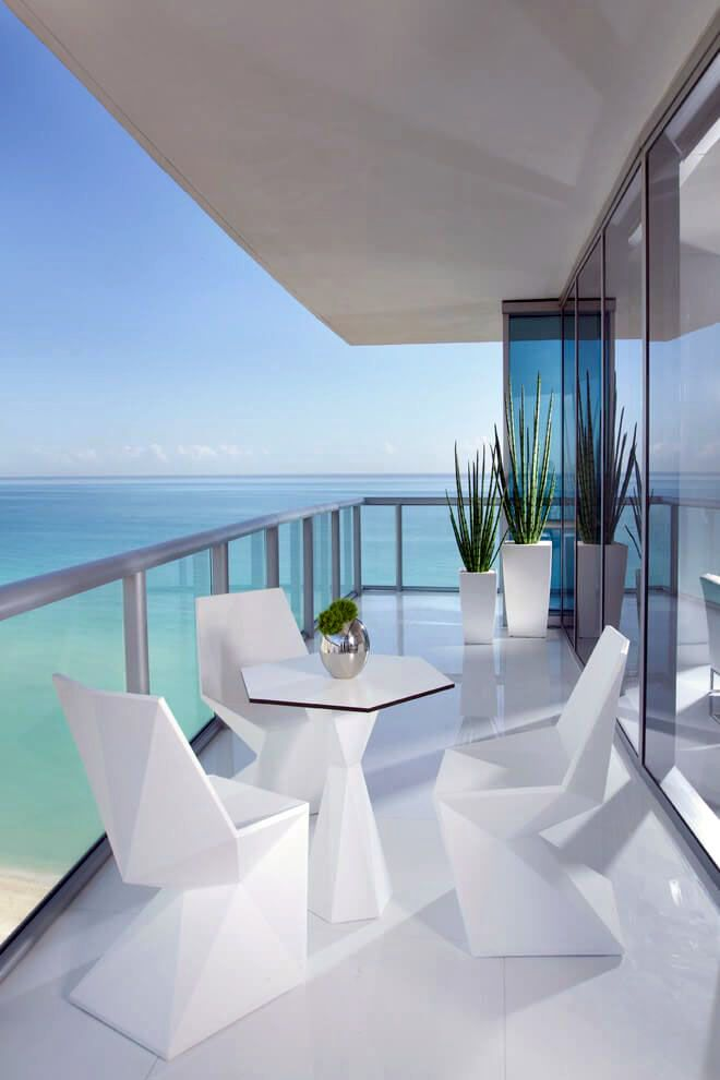 here's the easiest way to create the best balcony  miami