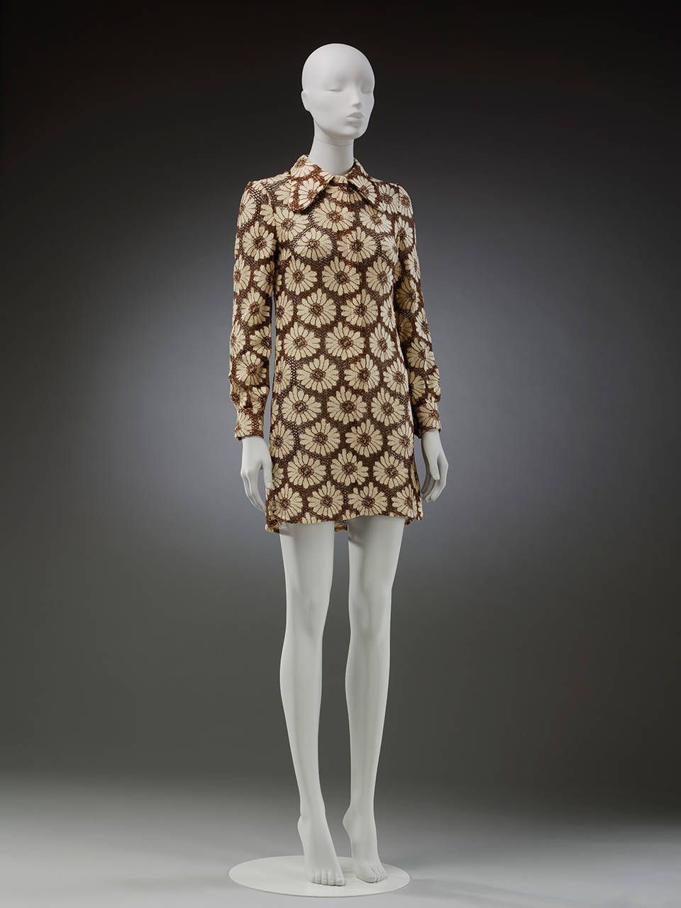 Eclair Dress Mary Quant S Ginger Group 1969 Uk Museum No T 90 2018 C Victoria And Albert Museum Lo Vintage Fashion 1960s 1960s Fashion Vintage Fashion