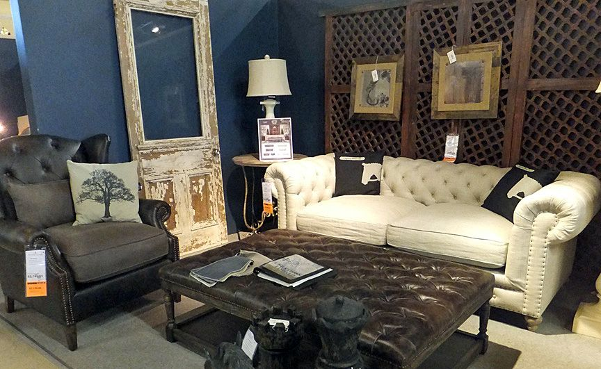 Stoney Creek Furniture showroom...all three pieces are fab