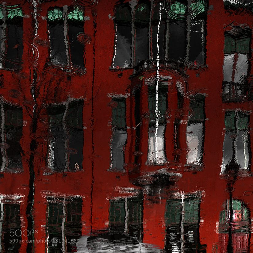 red house reflections - Pinned by Mak Khalaf Fine Art Leidnerainreflectionriverwater by gilclaes